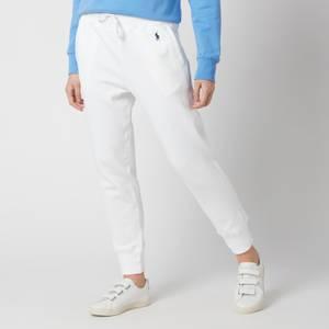 Polo Ralph Lauren Women's Logo Classic Sweatpants - White