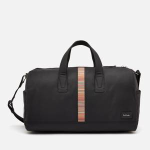 PS Paul Smith Men's Signature Stripe Holdall Bag - Black