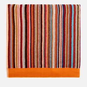 PS Paul Smith Men's Signature Stripe Large Towel - Multi