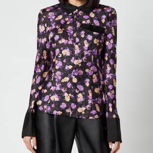 Baum Und Pferdgarten Women's Mirinda Shirt - Paris Flower Purple