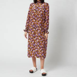 Baum Und Pferdgarten Women's Anamay Dress - Paris Flower Sunshine