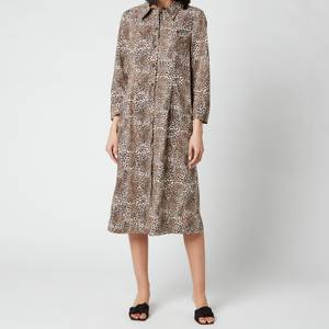 Baum Und Pferdgarten Women's Arlene Shirt Dress - Mini Leo
