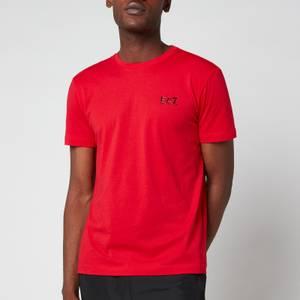 EA7 Men's Train Core ID Pima Crewneck T-Shirt - Racing Red