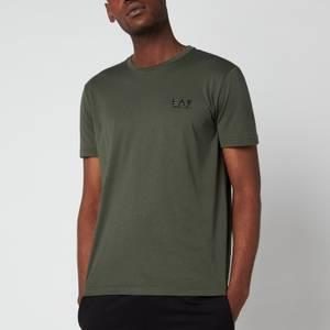 EA7 Men's Train Core ID Pima Crewneck T-Shirt - Climbing Ivy