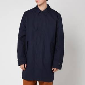 PS Paul Smith Men's Mac Coat - Dark Navy