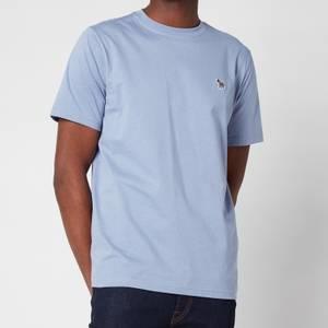PS Paul Smith Men's Regular Fit Zebra Logo Crewneck T-Shirt - Blue