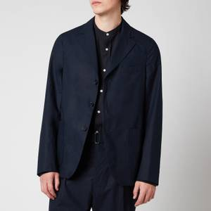 Officine Generale Men's Armie Single Breasted Blazer - Dark Navy