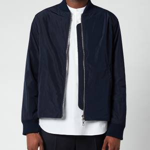 Officine Generale Men's Ben Nylon Bomber Jacket - Navy