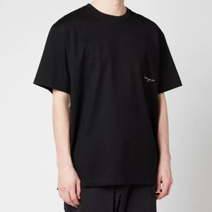 Wooyoungmi Men's Metallic Logo T-Shirt - Black