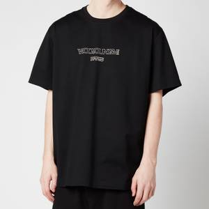 Wooyoungmi Men's Centre Logo T-Shirt - Black