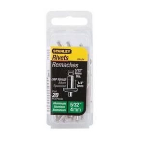 Stanley Rivets - Medium - 4mm - 20 Pack