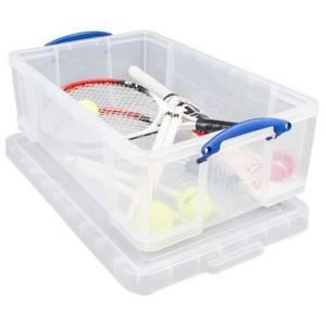 Really Useful Storage Box - Clear - 50L