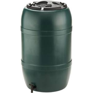 Ward 210L Water Butt With Lid & Tap