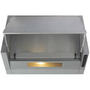 CDA EIN60SI Integrated Cooker Hood - 60cm - Stainless Steel