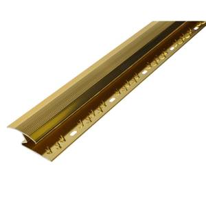 Cover Strip Carpet to Laminate Floor Edge - Gold 1800mm