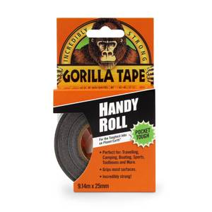 Gorilla tape Handy Roll - 25mm x 9m