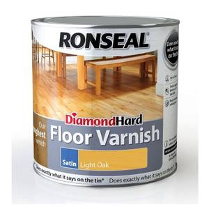 RONSEAL DIAMOND HARD FLOOR VARNISH L.OAK