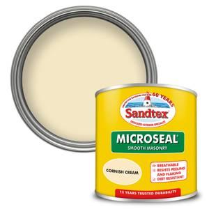 Sandtex Ultra Smooth Masonry Paint - Cornish Cream - 150ml