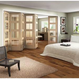 Room Glazed Fold Doorset - 3771mm Wide