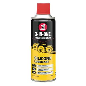 3-in-One Silicone Spray - 400ml