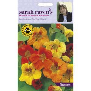 Sarah Ravens Nasturtium Tip Top Mixed Seeds