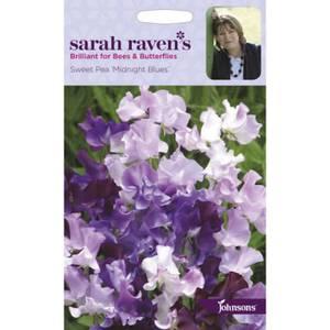 Sarah Ravens Sweet Pea Midnight Blues Seeds