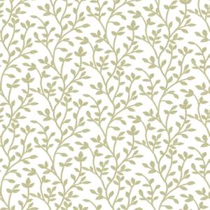 Superfresco Mini Leaf Trail Green Wallpaper