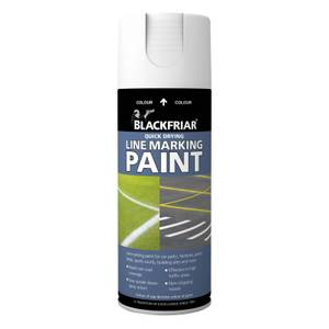 Rust-Oleum Blackfriar White - Line Marking Paint - 400ml
