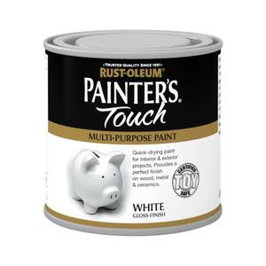 Rust-Oleum White - Gloss Painters Touch - 250ml