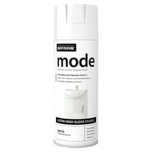 Rust-Oleum White - Mode Spray Paint - 400ml