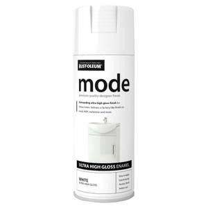 Rust-Oleum White - Mode Spray Paint - 400ml