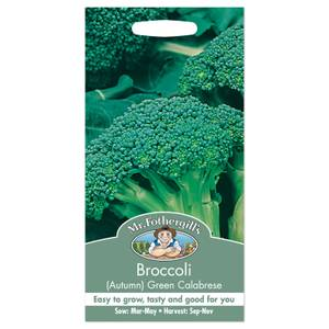 Mr. Fothergill's Broccoli Green Calabrese Autumn Seeds