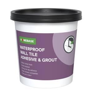 Homebase Adhesive & Grout - 1.3kg