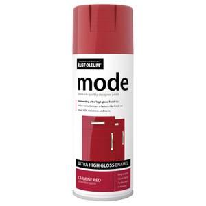 Rust-Oleum Carmine Red - Mode Spray Paint - 400ml