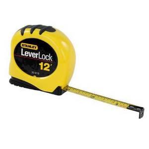 Stanley Leverlock Tape Measure - 3m