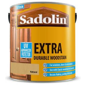 Sadolin Extra Durable Woodstain - Natural - 2.5L