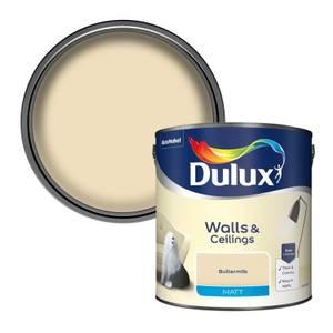 Dulux Buttermilk - Matt Emulsion Paint - 2.5L