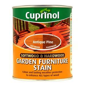 Cuprinol Hardwood Garden Furniture Stain Antique Pine - 750ml