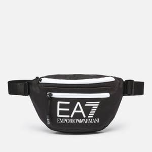 EA7 Men's Train Core Bumbag - Black/White
