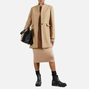 Ted Baker Women's Bianza Straight Tailored Coat - Camel
