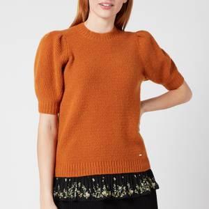 Ted Baker Women's Daiszy Short Sleeve Sweater - Orange