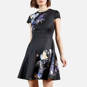 Ted Baker Women's Pipino Decadence Skater Dress - Navy