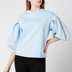 Ted Baker Women's Irissa Puff Sleeve Sweat - Pale Blue