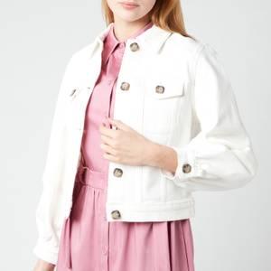 Ted Baker Women's Consse Boxy Denim Jacket - Cream