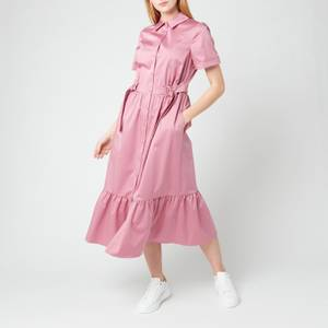 Ted Baker Women's Luuciiy Short Sleeve Cotton Shirt Dress - Mid Pink