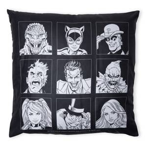 Batman Villains Icon Coussin Carré