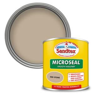 Sandtex Ultra Smooth Masonry Paint - Mid Stone - 150ml