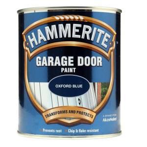 Hammerite Oxford Blue - Garage Door Enamel Exterior Paint - 750ml