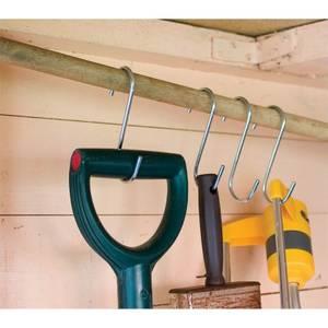 Galvanised S-Shaped Hooks