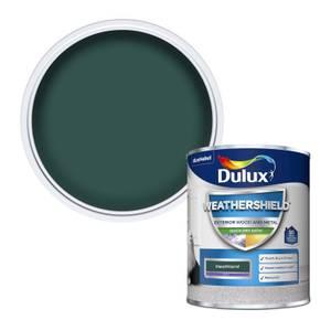 Dulux Weathershield Exterior Quick Dry Satin Paint - Heathland - 750ml